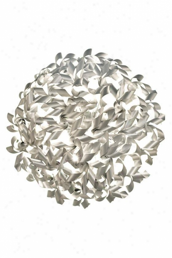 """pinwheel Ceiling/wall Light - 27""""w, Aliminum"""