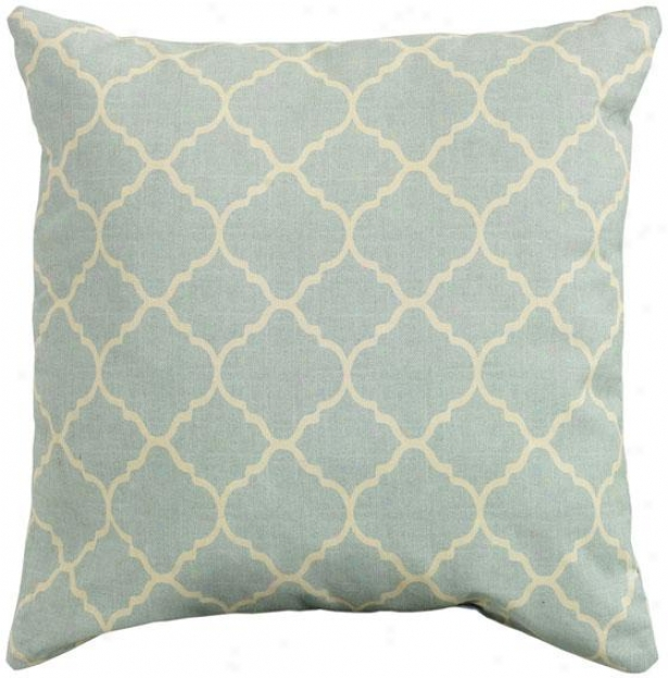 """pisa 20"""" Square Outdoor Pillow - 20"""" Square, Blue"""