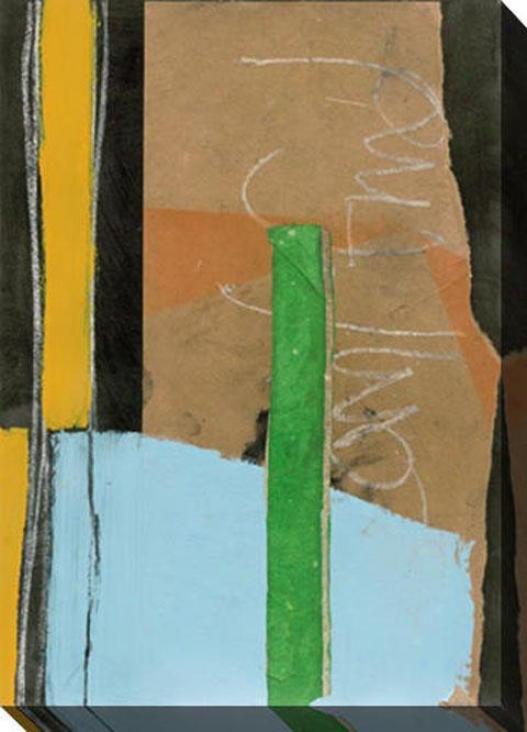Planar Composite I Canvas Wall Art - I, Brown
