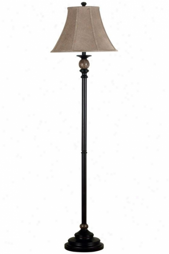 """plymouth Floor Lam p- 62""""hx16""""d, Oil Rubbed Bronze"""