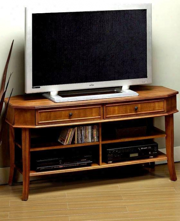 """""""polaris Widescreen Tv Stand - 26""""""""h, Olive Green"""""""