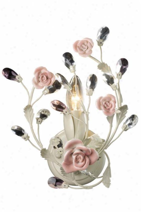 Porcellana Scomce - 1-light, Ivory