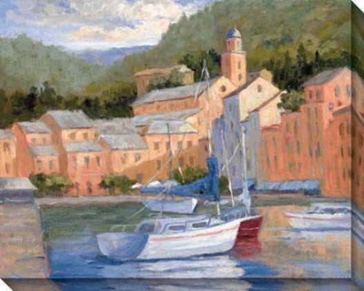 Portofino Summer I Canvas Wall Art - I, Multi
