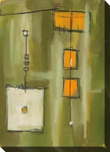 Preservation I Canvas Wall Art - I, Green