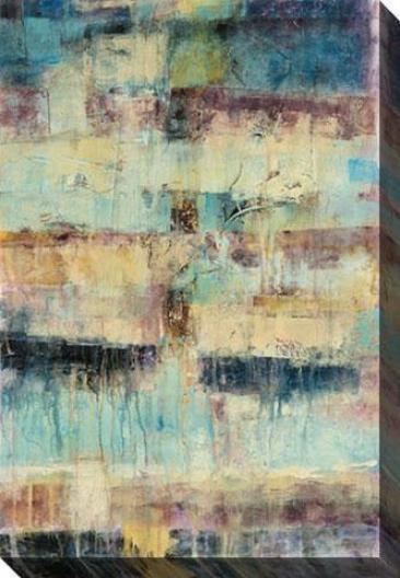 Primary Ii Canvas Walk Art - Ii, Blue