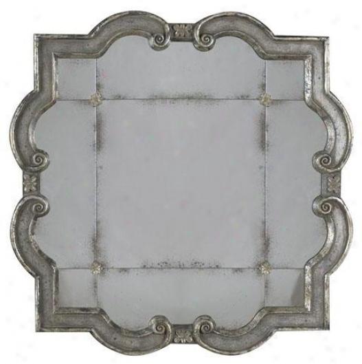 Prisca Mirror - Large, Silver