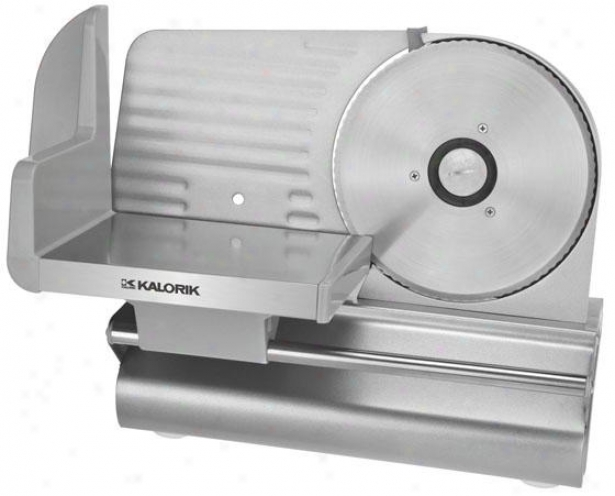 Professoonal Meat Slicer - 11.5hx11wx15d, Silver