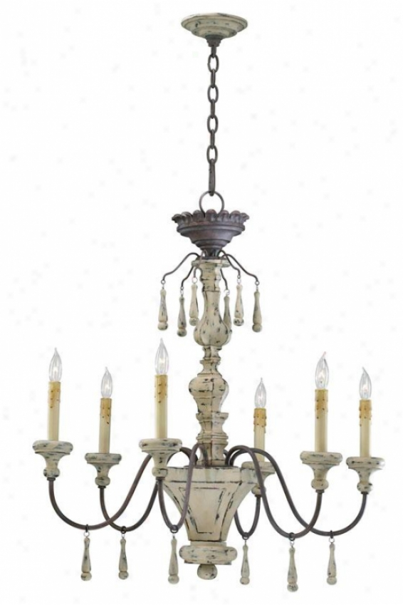 Provence Chandelier - 6-light, Carriage House