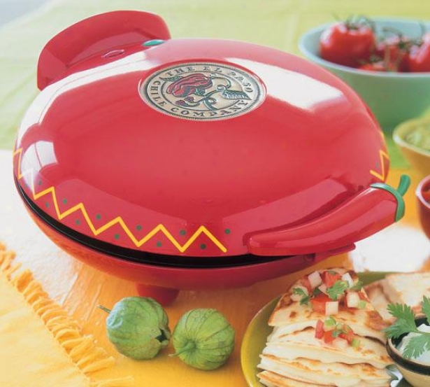 """quesadilla Maker - 13""""hx6""""wx11""""d, Red"""