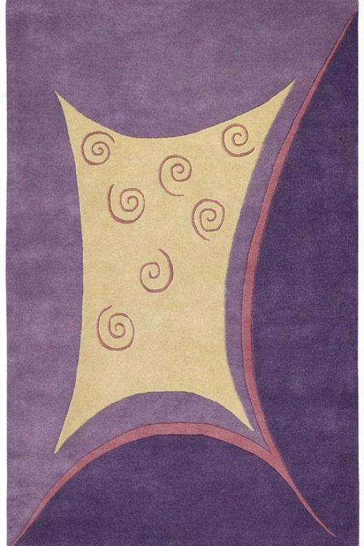 Radiance Area Rug - 2'x3', Lavender