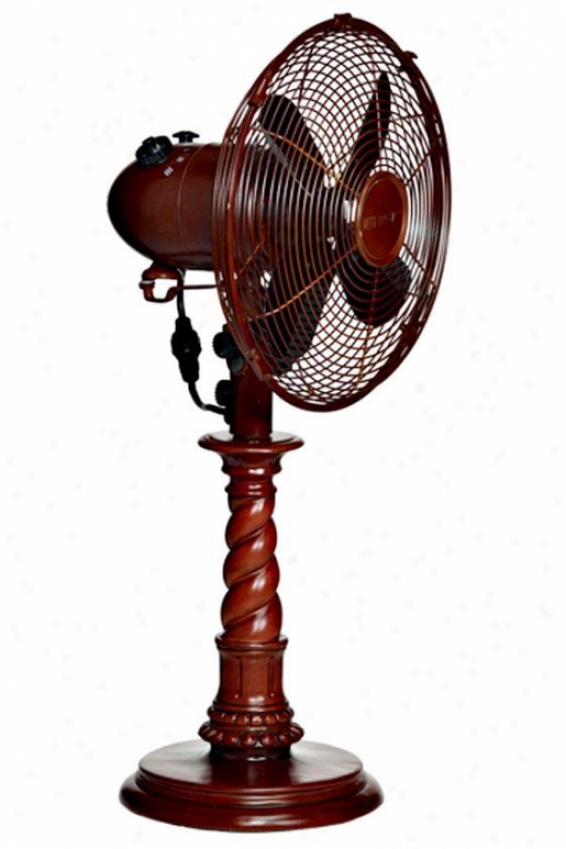"""""""raleigh Oscillating Fan - Table 10""""""""d, Brown"""""""