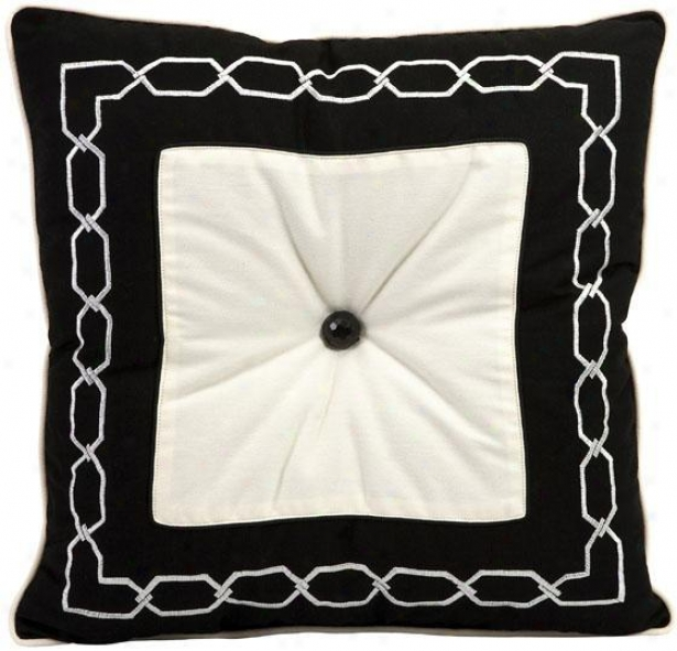 Ramey Pillow - Large, Black