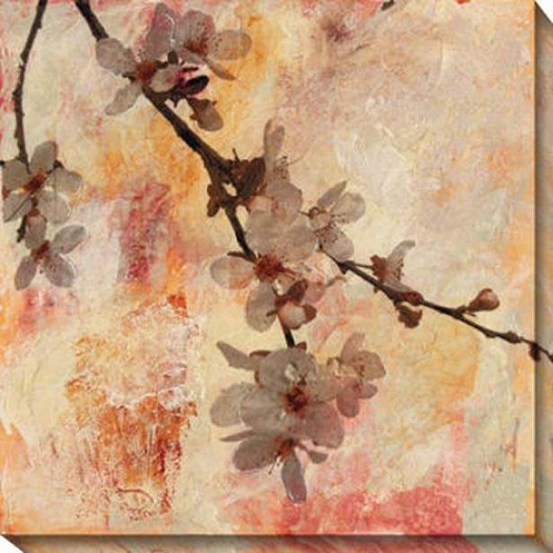 Rapture Iii Canvas Wall Art - Iii, Pink
