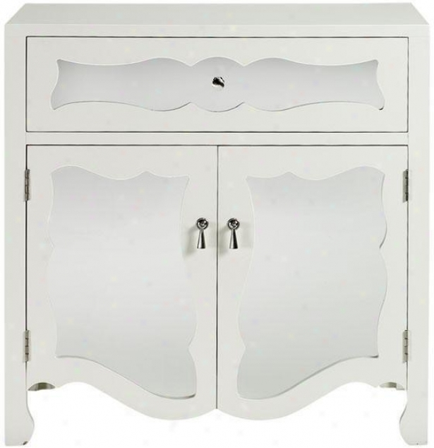 """reflections 34""""h Mia Cabinet - Cabinet, White"""