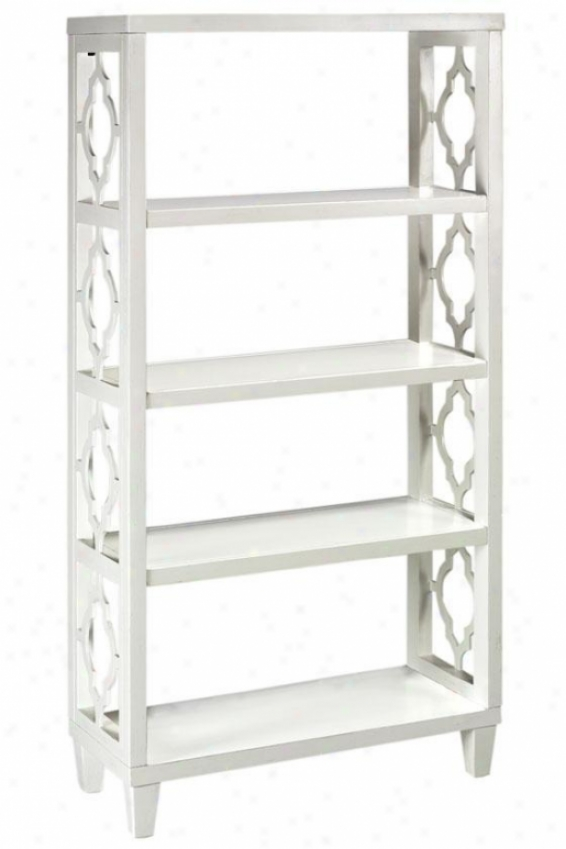 """reflections 56""""h Storage Shelf Ii - 56""""hx28""""w, White"""