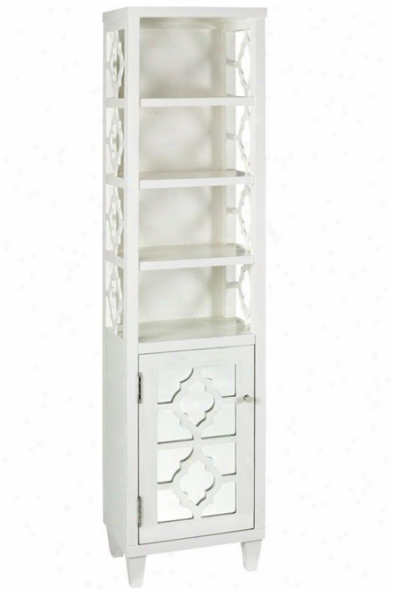 """reflections  67.5""""h Linen Storage Cabinet - 67.5""""hx16""""w, White"""