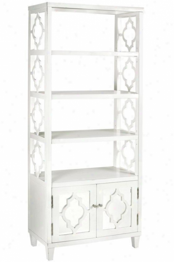 """reflections 72""""h Bookshelf - 30""""wx13.5""""dx72"""", White"""