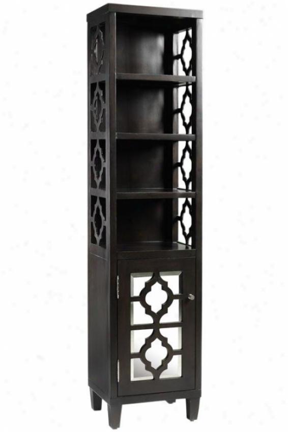 """reflections Linen Storage Cabinet - 67.5""""hx16""""w, Coffee Brown"""