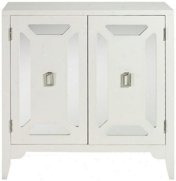 Reflections Meade Cabinet - Cabinet Only, White