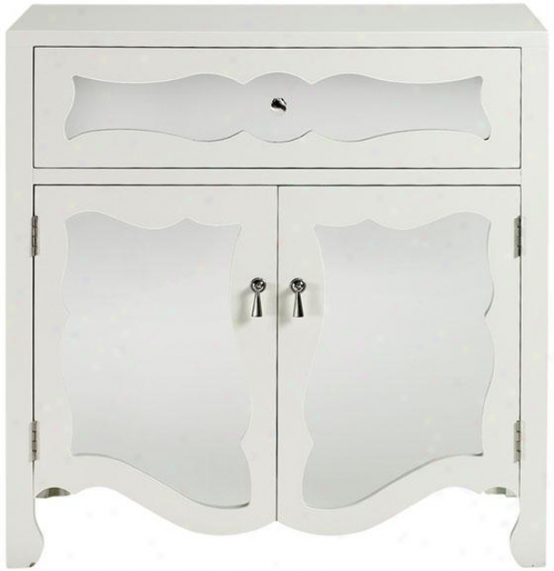 Reflections Mia Cabinet - Cabinet Only, White