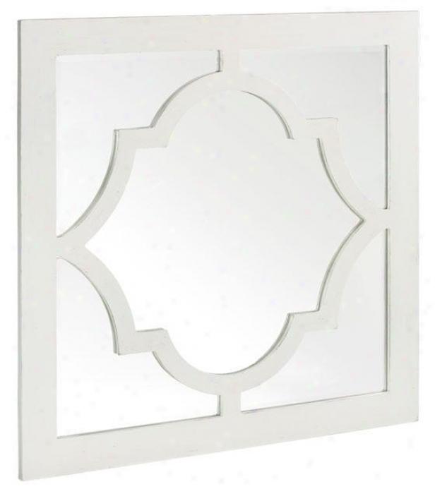 """reflections Mirror - 32""""hx32""""w, White"""