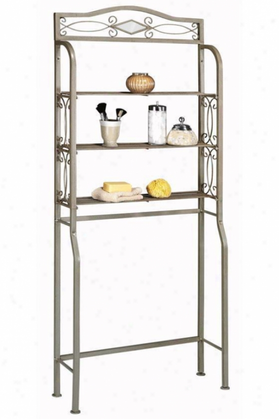 """reflections Space Saver - 66.5""""hx27.25""""w, Silver"""