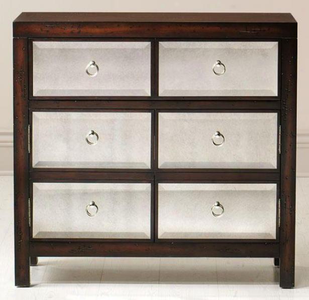 """""""reflections Van Cleef Cabinet - 34""""""""hx36""""""""w, Brown"""""""