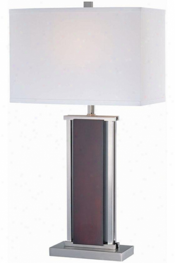 """rektor Table Lamp - 14""""x26"""", White"""