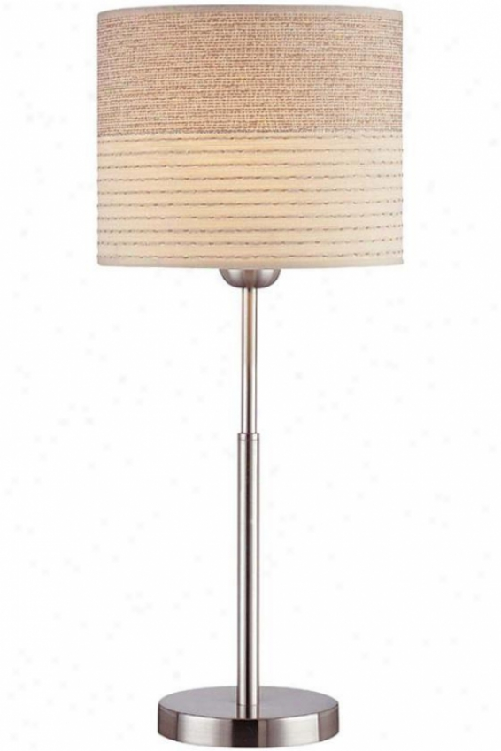 Relaxar Table Lamp - Small, Silver