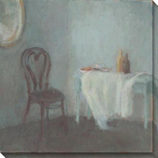 Resonance I Canvas Waall Art - I, Gray