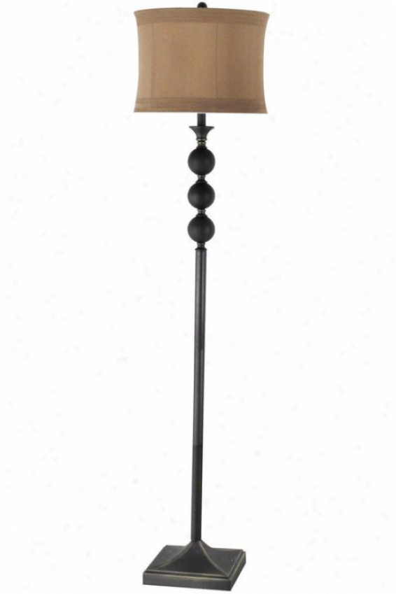 """reva Floor Lamp - 15""""wx15""""dx63""""h, Bronze"""
