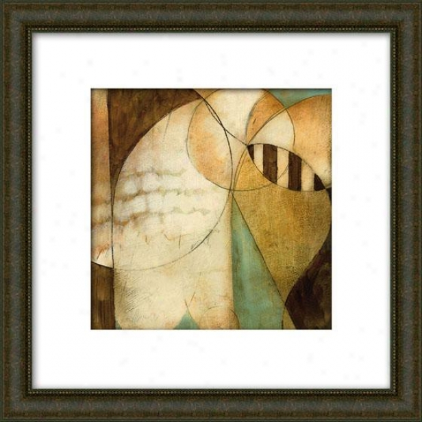 Reveal I Framed Wall Art - I, Matted Burlwood