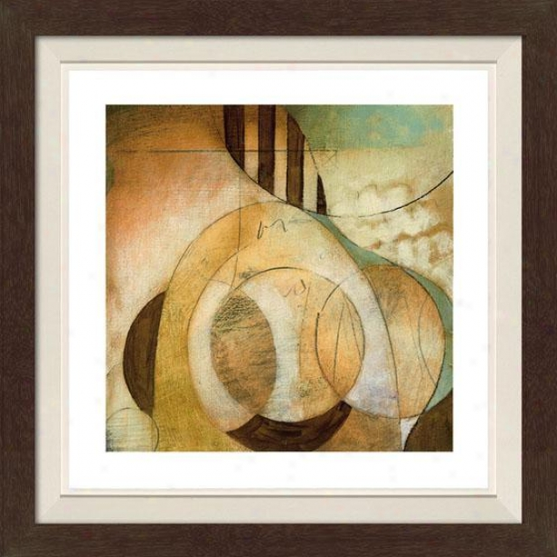Reveal Ii Framed Wall Art - Ii, Fltd Espresso