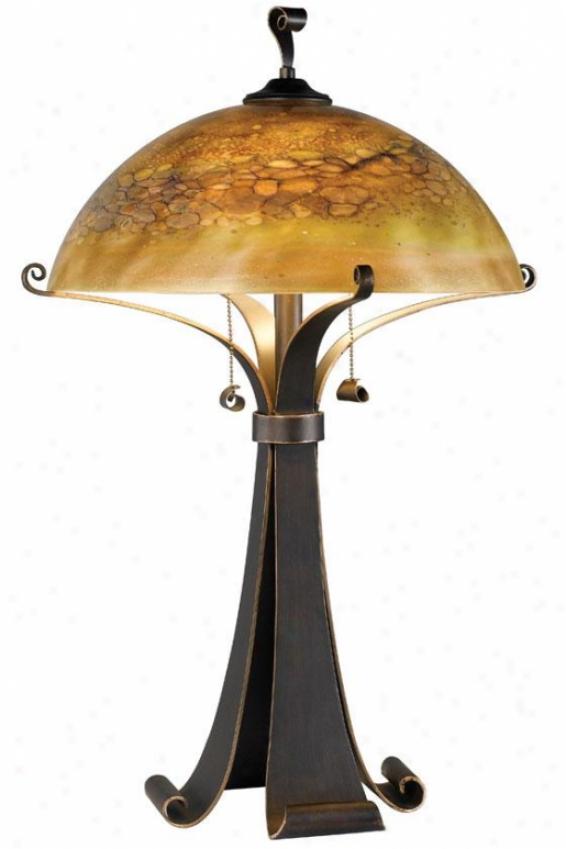 """reyes Table Lamp - 28""""h,_Chclt Caramel"""