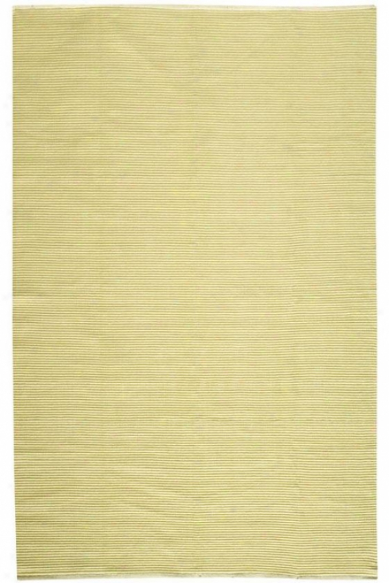 """ribbed Cotton - 2'3""""x12' Runner, Sage"""