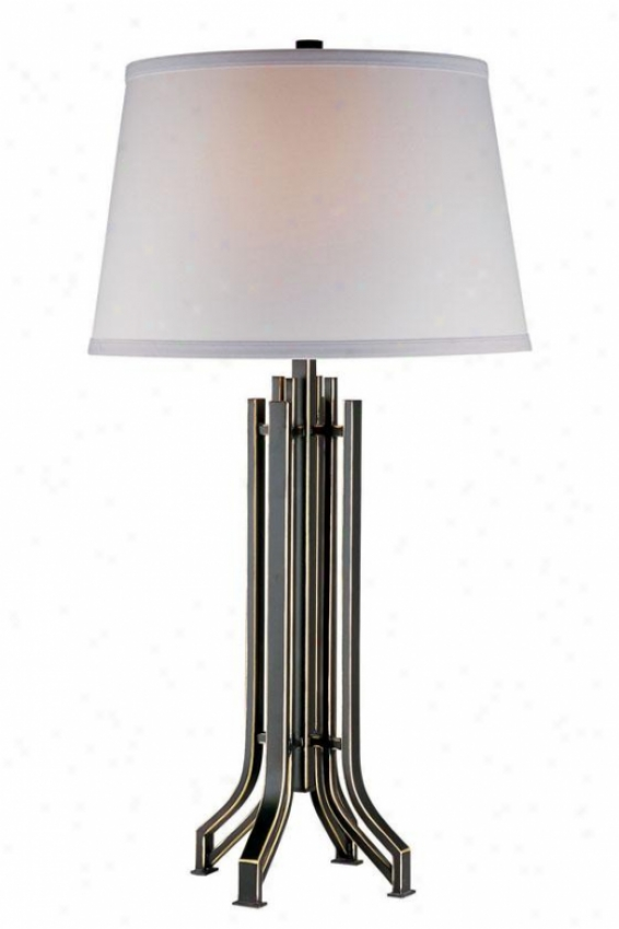 """ridley Table Lamp - 30.5""""hX  16""""w, Bronze"""