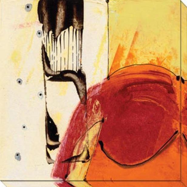 Ripe Grain Ii Canvas Wall Art - Ii, Yellow