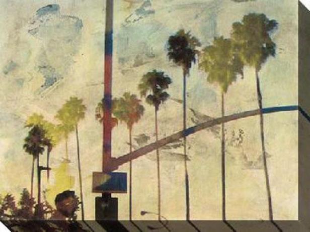 Riviera Press Iii Canvas Wall Art - Iii, Beige