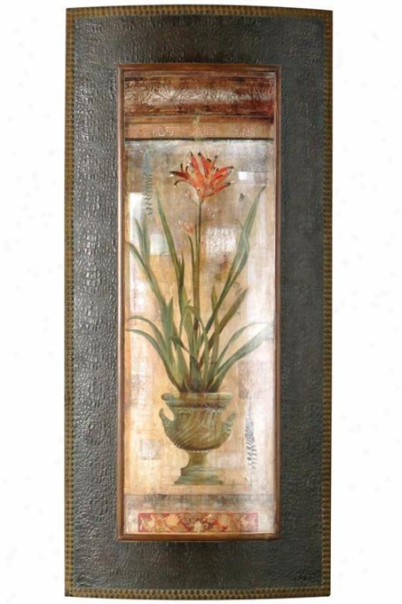Rojo Botanicals Wall Art - I, Ivory