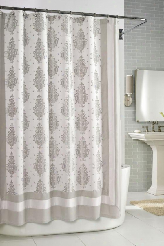 """roma Shower Curtain - 72""""hx72""""w, Beige"""