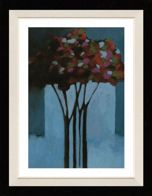 Romance Ii Framed Wall Art - Ii, Matted Black