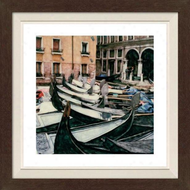 """""""romanza Framed Walll Art - 30""""""""hx30""""""""w, Fltd Espresso"""""""