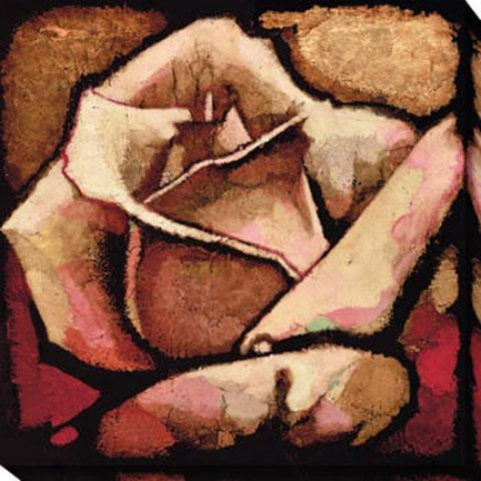 Rose Study Ii Canvas Wall Practical knowledge - Ii, Red