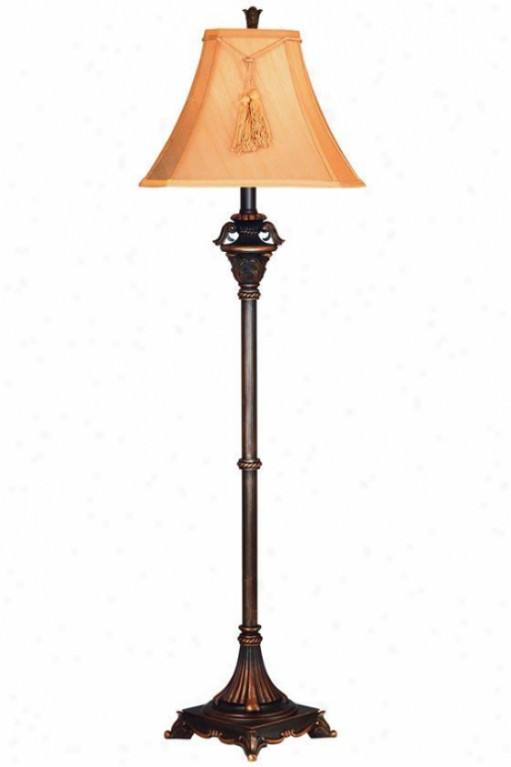 """rowan Floor Lamp - 58""""h, Bronze"""