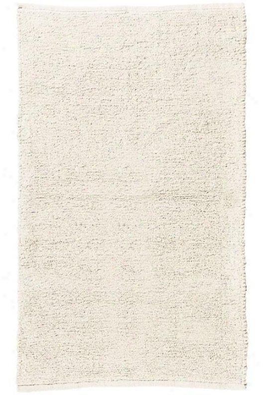 """royal Chenille I Area Rug - 2'3""""x12'runner, Ivory"""