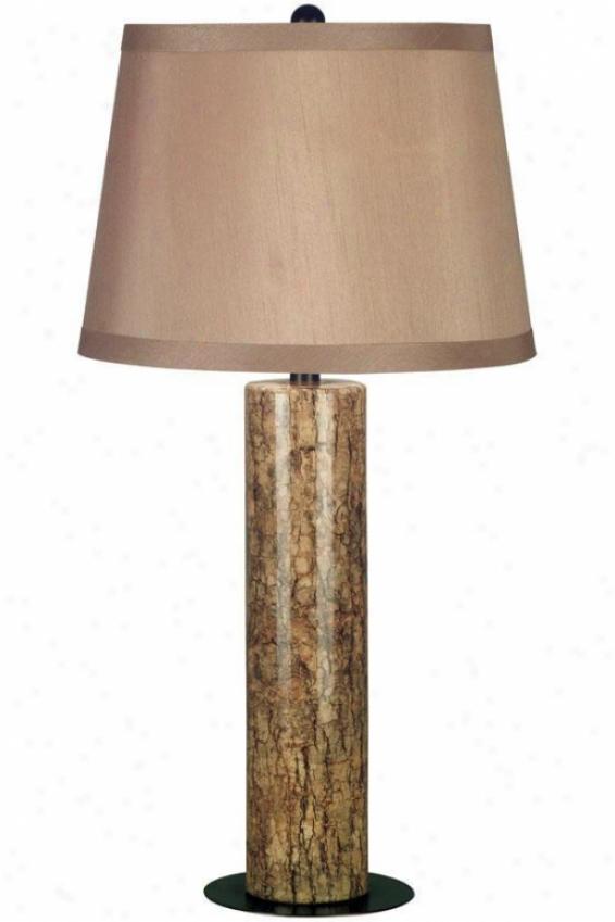 """russo Slab Lamp - 30""""h, Copper"""