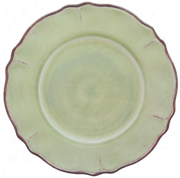 Rustica Salaf Plates - Set Of 4 - Set Of Four, Sage