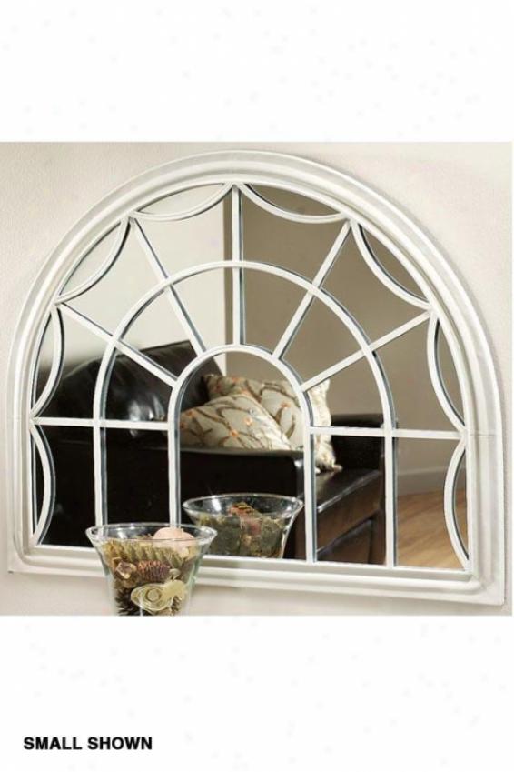 Sabrina Decoeative Wall Mirror - Large, Ivory