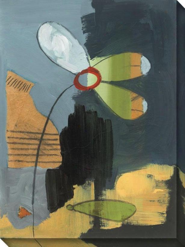 Salt flower I Canvas Wall Art - I , Gray