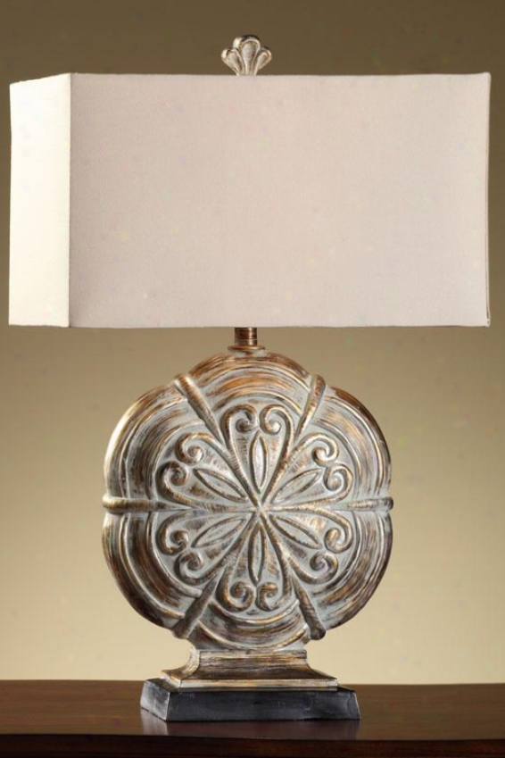 """sandoval Table Lamp - 30""""h, Somerset Gold"""